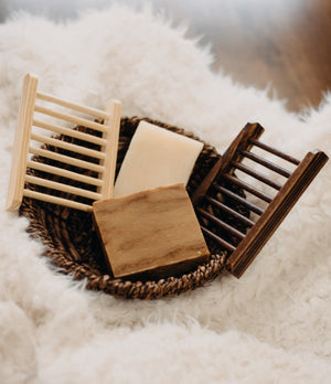 bamboo soap drying rack