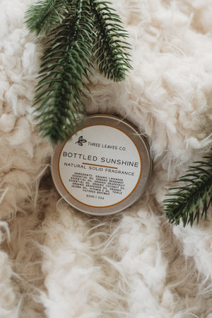 Bottled Sunshine Natural Solid Fragrance