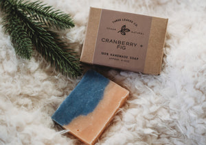 Cranberry + Fig Vegan Soap Bar
