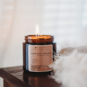 Sweetest Dreams Massage Candle