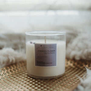 Tobacco Flower Soy Candle | 8oz