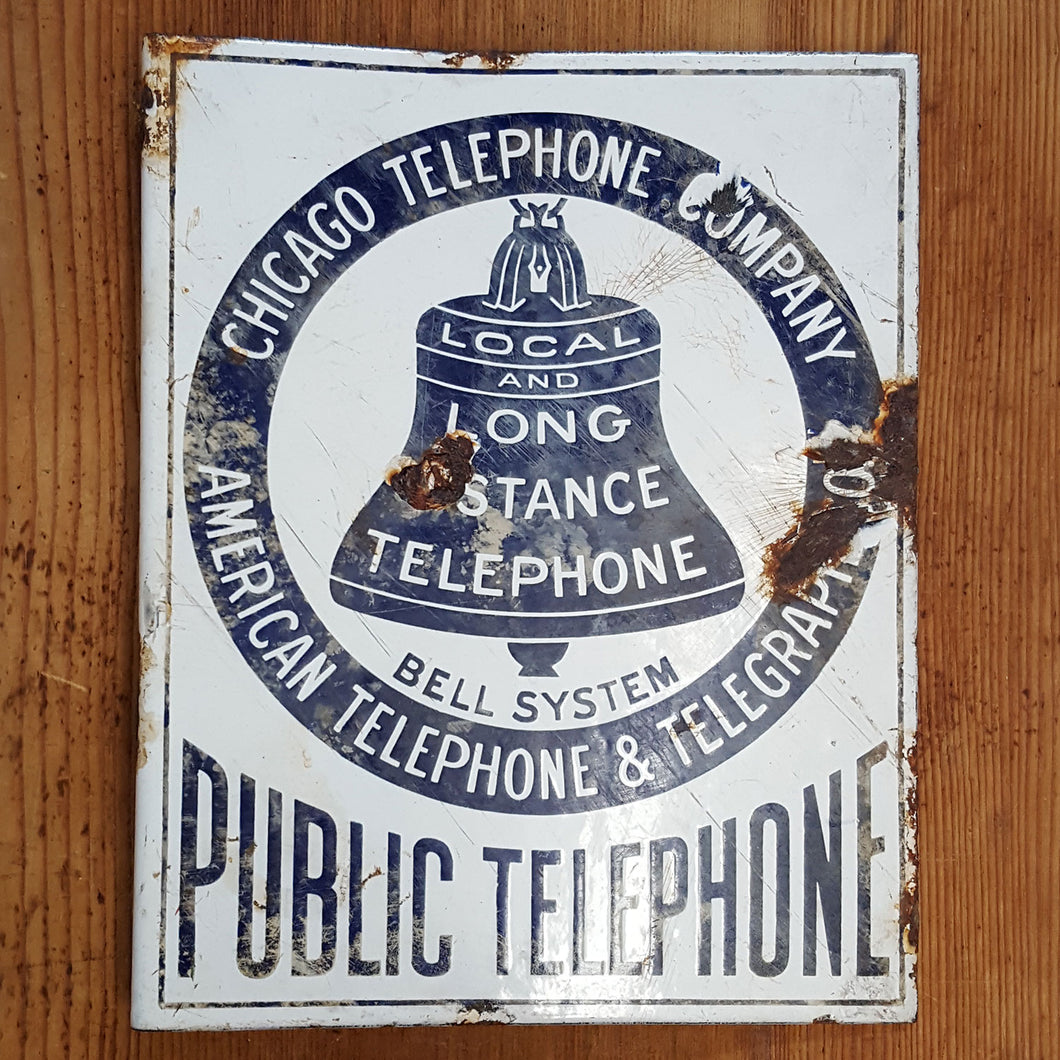 1920's Chicago Bell Sign