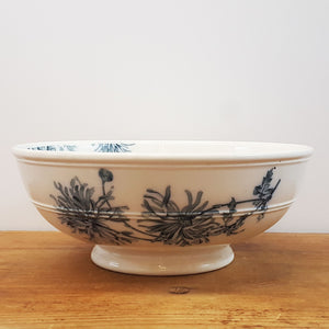 19th c French Chrysanthemum Bowl