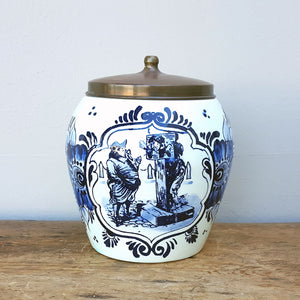 Delft Tobacco Jar