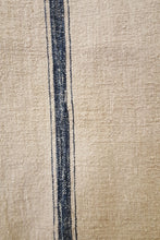 French Grain Sack - Blue Stripe