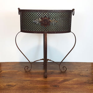 French Iron Planter