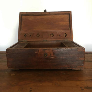 Middle Eastern Wood Bridal Box