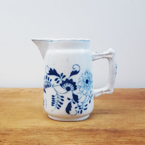 Blue Onion Meissen Creamer