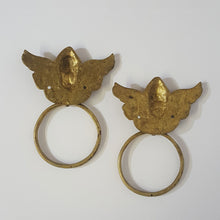 Angel Towel Rings (set)