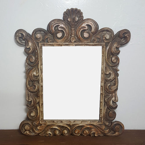 Carved Spanish Mirror
