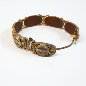 Cloisonne Linked Bracelet