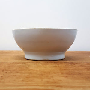 English Ironstone Footed Bowl