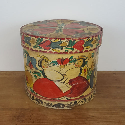 Folk Art Firkin