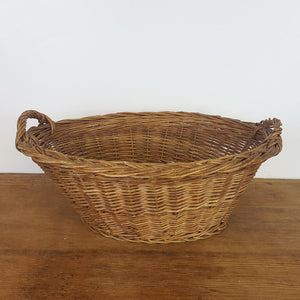 French Child's Laundry Basket