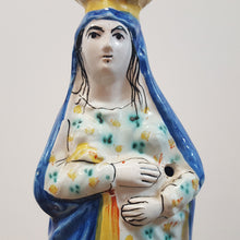 19th c French Virgin Mary Statue