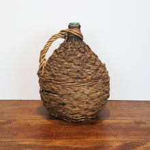 french wire and wicker demijohn