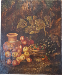 fruit still life painting