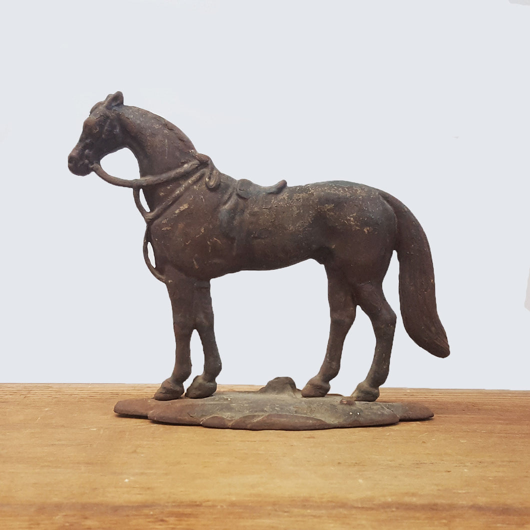 Small Iron Horse Door Stop