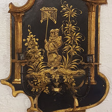 Pair of Italian Chinoiserie Sconces