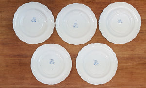 """Les Sports"" Old French Plates"