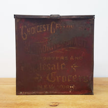 Red Mercantile Tin