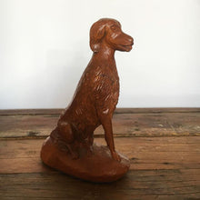 Carved Folk Art Dog