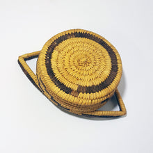 Old Papago Handled Basket