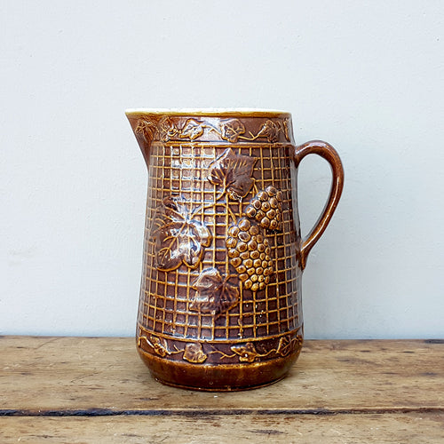 Rockingham Glazed Pitcher