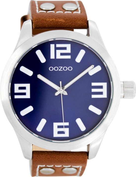 Montre Oozoo Timepieces Silver/Blue C1065  -  Oozoo