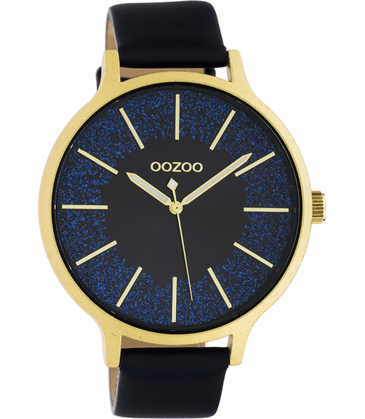 Montre Oozoo Timepieces Black/Gold C10568  -  Oozoo