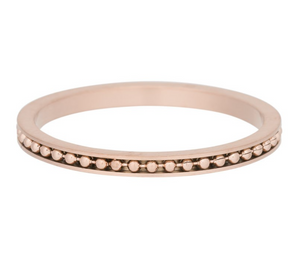 "Bague anneau couvrant "" Mambo "" Rose Gold - Ixxxi"