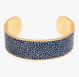 "Jonc "" Cosmos "" Bleu Nuit  -  Bangle up"