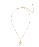 "Collier "" Serpent ""  Gold  - Dottilove"