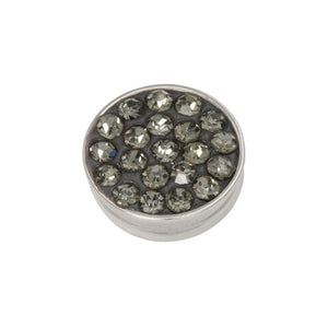 "Element interchangeable "" Top Part "" Pierres Zircon Noires  - Ixxxi"