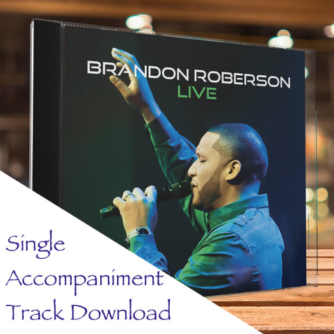 No One Greater - Single Accompaniment Track Download
