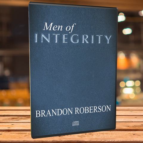 Men of Integrity - Audio CD (Teaching)