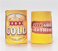 Fourex Gold Retreat Stubby Cooler
