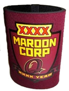 "Fourex ""Maroon Corp"" State Of Origin Stubby Holder"