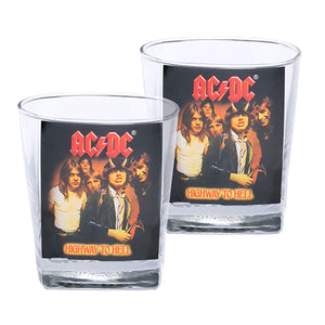 ACDC Set of 2 Spirit Glasses