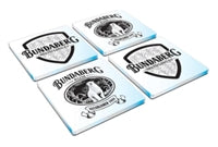 Bundaberg Rum Glass Coasters