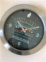 Bundaberg Rum Stainless Steel Wall Clock