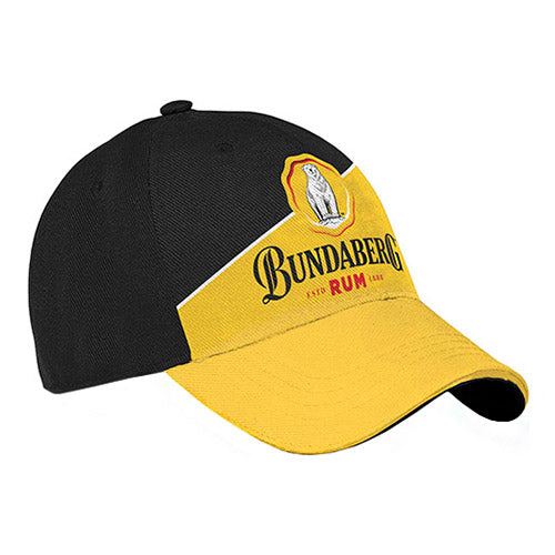 Bundaberg Rum Yellow Cap-Black