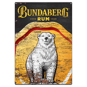 Bundaberg Rum Bear Tin Sign