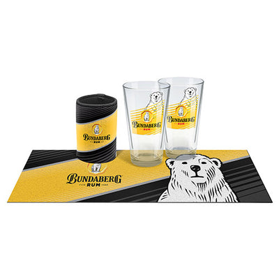 Bundaberg Rum Bar Essentials Glass Gift Pack