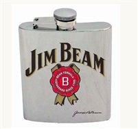 Jim Beam 7oz Hip Flask