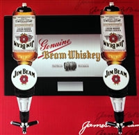 Jim Beam Wall Mount Spirit Dispenser