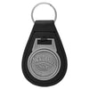 Jack Daniel's Cartouche Leather Key Ring