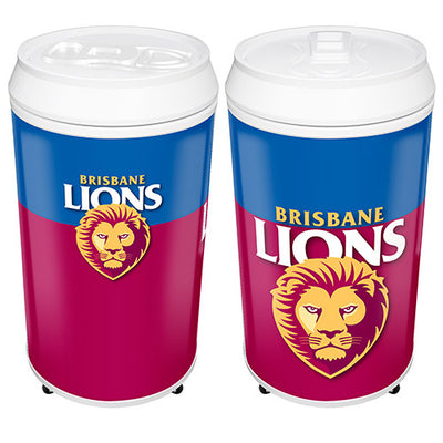 Brisbane Lions Can Shaped Bar Fridge