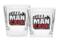 Man Cave Spirit Glass Pack
