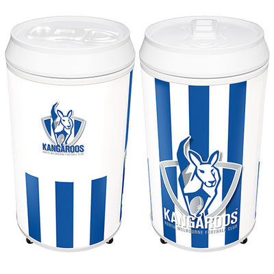 North Melbourne Kangaroos Can Shaped Bar Fridge